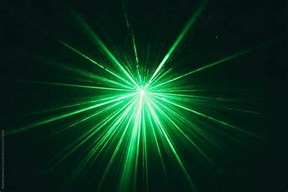 Laser Beam Dark Stocksy