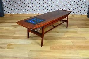 Table Basse Scandinave Vintage : table basse scandinave en teck a hovmand olsen vintage 1960 ~ Teatrodelosmanantiales.com Idées de Décoration