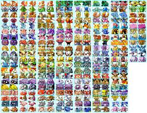 Pokemon Finball all Pokemons recolour