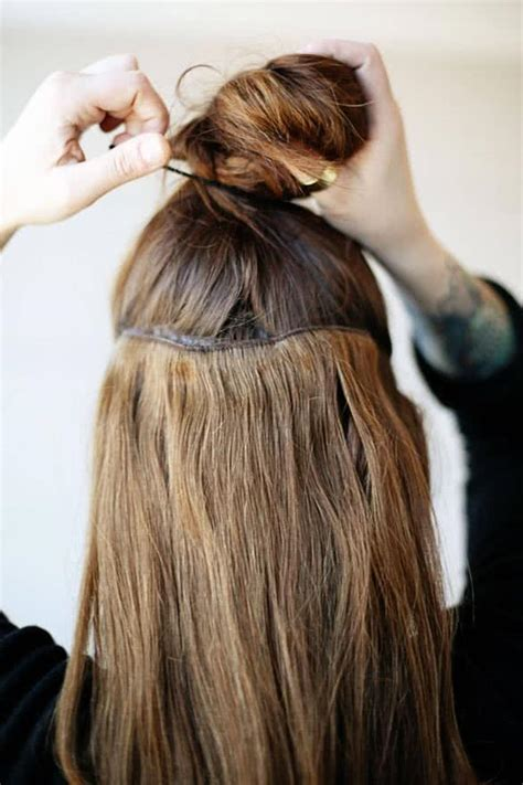 hair extension hair styles it how to use clip in hair extensions 3925