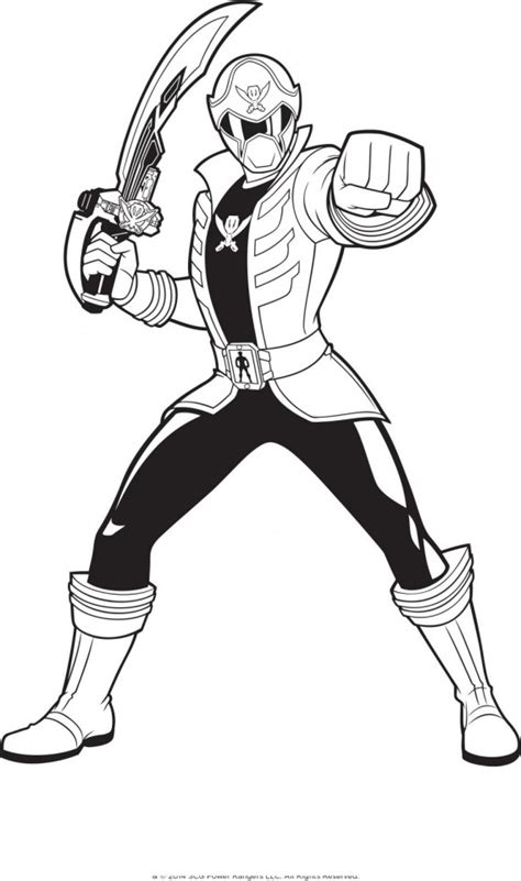 power rangers girls coloring pages coloring home