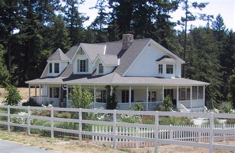Prepare A One Story House Plans With Wrap Around Porch