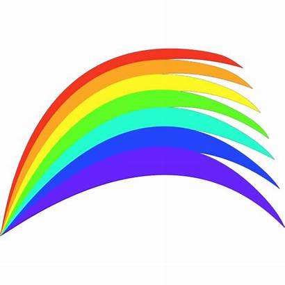 Rainbow Svg Clip Clipart Web Arts Icon