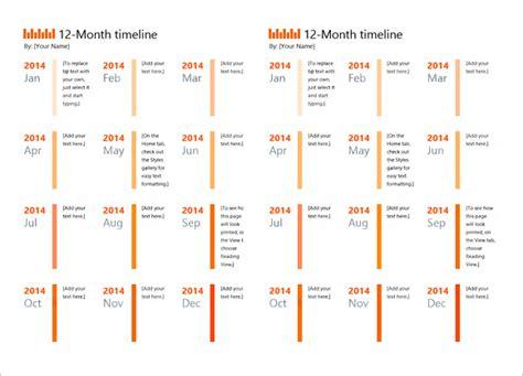 calendar timeline templates  samples examples
