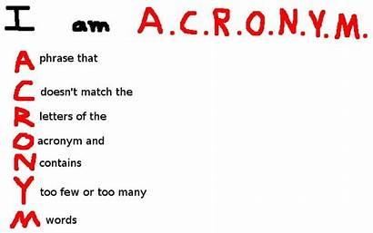 Acronyms Bad Meme Memes