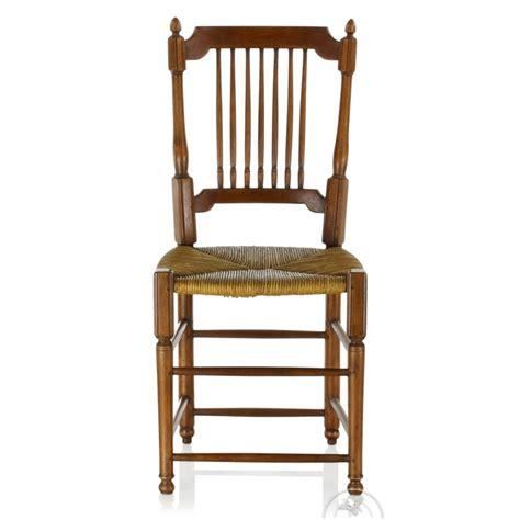 chaise bois paille chaise louis xvi en bois et paille