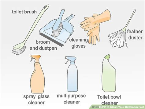 how to clean bathroom tile 9 ways and 3 ways to clean your bathroom fast wikihow how t