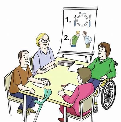 Beirat Bewohner Vertretungen Interessen Leichte Lebenshilfe Sprache
