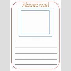 All About Me! Ks1 Writing Template By Twinkletwin  Teaching Resources Tes
