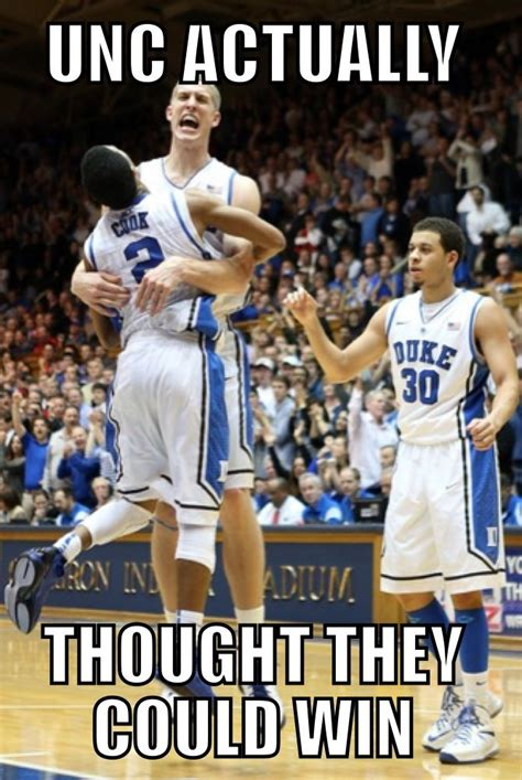 Unc Basketball Meme - duke beats unc cameron crazy pinterest
