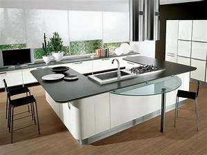 u shaped kitchen island - TjiHome
