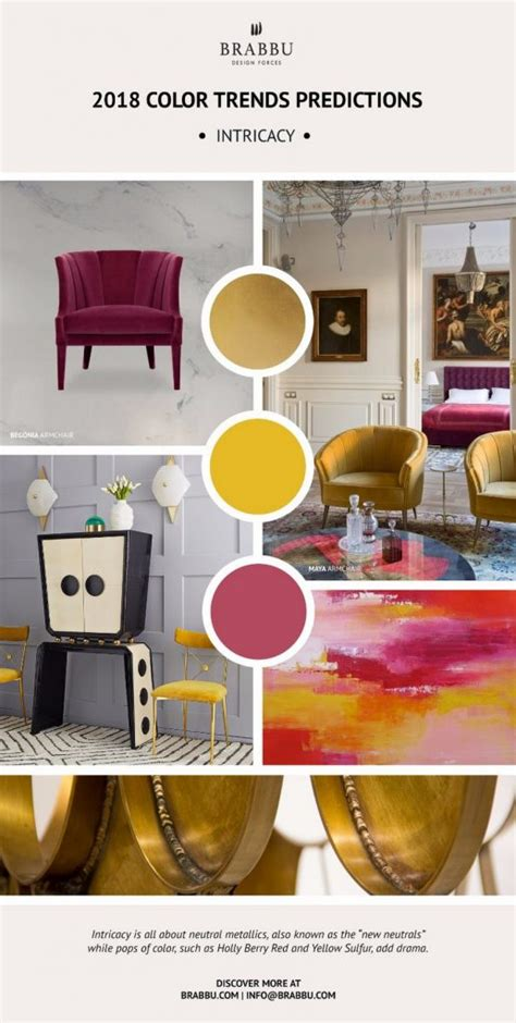 Home Interior Color Trends by Enhance Your Home Decor With Pantone S 2018 Color Trends