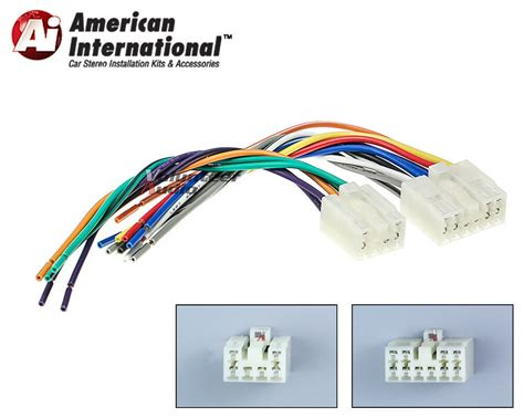 Car Radio Wiring Harnes 2005 Tundra by Toyota Plugs Into Factory Radio Car Stereo Cd Player