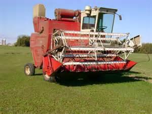 International Harvester Combines