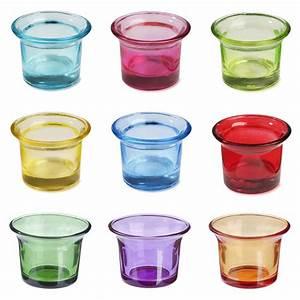 Teelichthalter Glas Bunt : auswahl bunt teelichthalter glas teelichtglas ~ Watch28wear.com Haus und Dekorationen