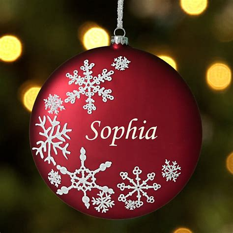 Personalized Christmas Ornaments At Giftscom