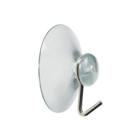 window hook suction cup 40mm with metal hook heartbeat uk