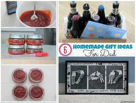 home made gift ideas homemade gift ideas for dad gluesticks