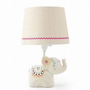 elephant lamps for nursery thenurseries With elephant floor lamp nursery