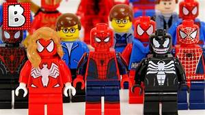 Every Lego Spider-Man Minifigure Ever Made!!! 2016 Upda ...