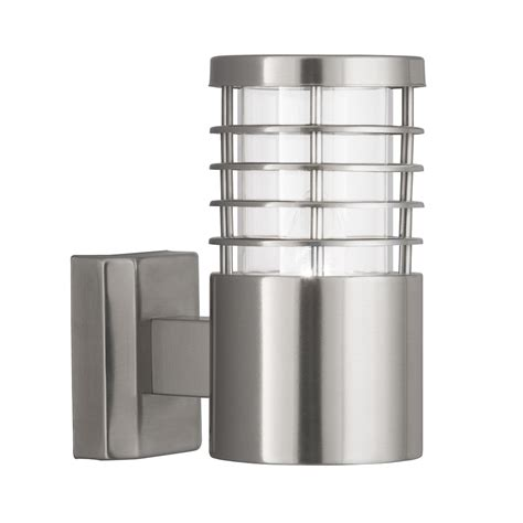 searchlight 1555ss satin silver outdoor wall light from