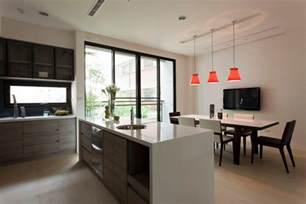 kitchen and dining interior design modern kitchen diner interior design ideas