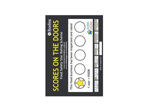 stickers protection cuisine food safety rating window stickers and signs labelservice