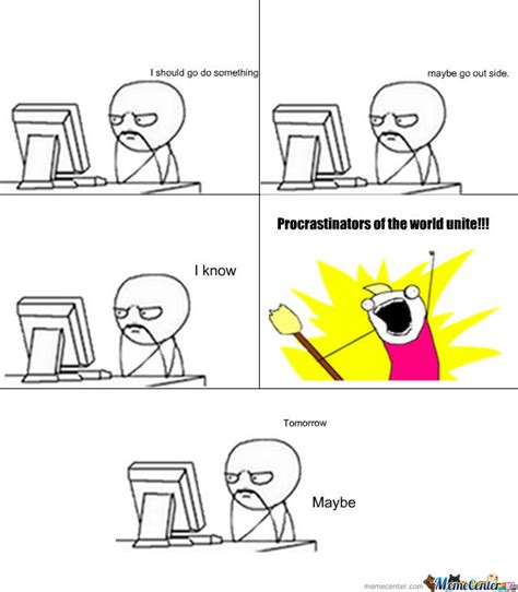 Memes About Memes - procrastination meme tumblr www pixshark com images galleries with a bite