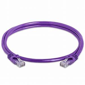 Cat6 Local Area Network Utp Purple Cable 500 Mhz