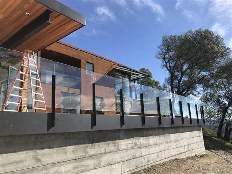 tempered laminated glass railing ot glass