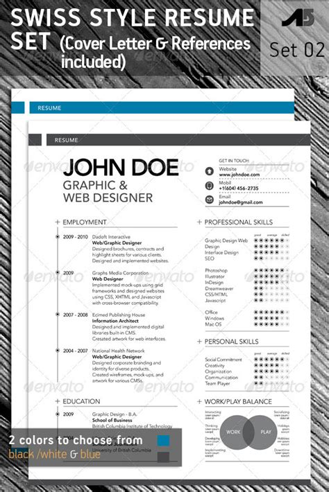 photoshop resume template 15 photoshop indesign cv resume templates photoshop idesignow
