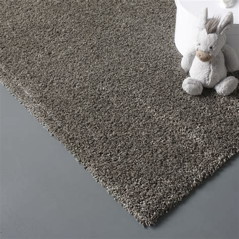 tapis taupe shaggy lizzy l 160 x l 230 cm leroy merlin