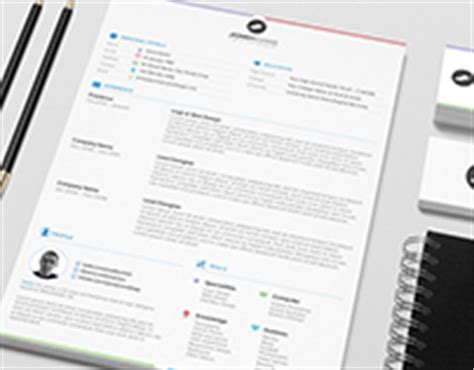 Behance Resume Template by Upnote On Behance