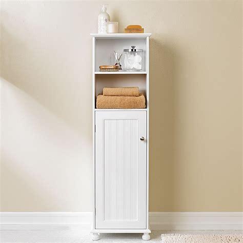 Diy Vintage Tall Wood Bathroom Storage Cabinet Using