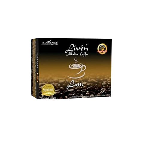 Do you want to enjoy the best of coffee in your cup? Shop Liven Alkaline Coffee (Latte Flavour) 20 Sachets Inside   Jumia Uganda