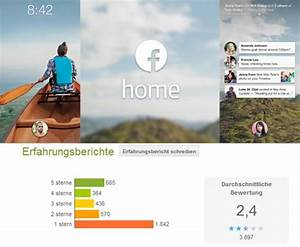 Facebook Home Katastrophale Bewertungen Im Play Store