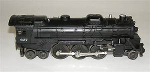 Lionel Postwar Set   2547ws W  637 Loco 2046w Tender