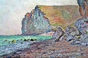 Les Petites Dalles : cliffs of les petites dalles claude monet ~ Melissatoandfro.com Idées de Décoration