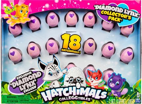 Hatchimals Colleggtibles 'diamond Lynx' Collector's Pack