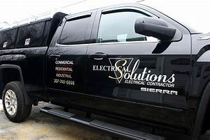 vehicle lettering marquis signs With truck window lettering