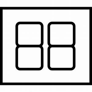 Segment Display  Ios 7 Interface Symbol Icons