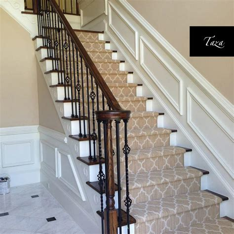 carpet runners for stairs geometric stair runner your stairs