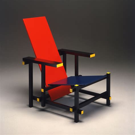 gerrit rietveld s and blue chair what i learned