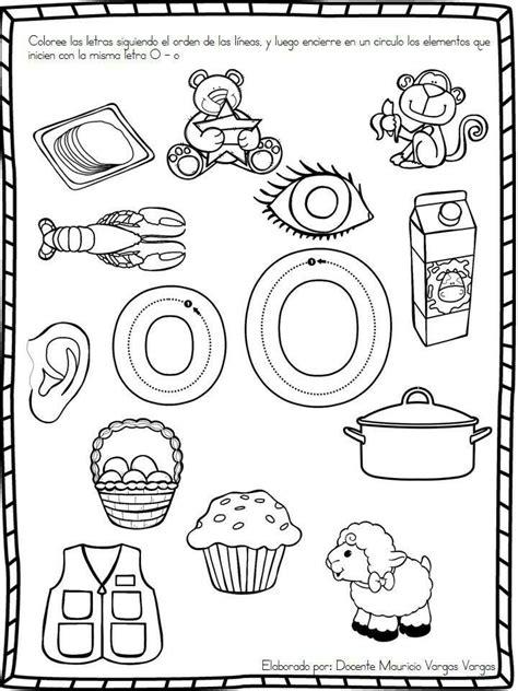 vocal o las vocales educacion preescolar actividades para preescolar hojas de trabajo