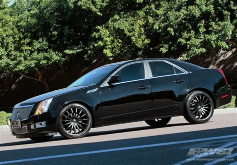 2011 cadillac cts with 20 quot giovanna martuni in black