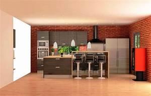 Meuble Plan De Travail : meuble plan de travail alinea paca mobilier marseille ~ Teatrodelosmanantiales.com Idées de Décoration