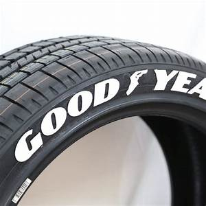 officially licensed goodyear eagle f1 lettering tire With goodyear white letter