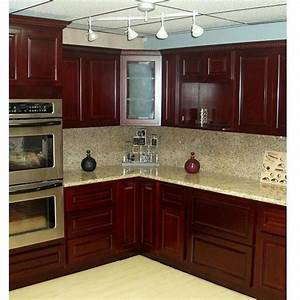 Cherry Kitchen Cabinets With Oak Floors Decor References