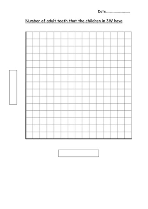 blank bar graph template adult teeth  hannahw
