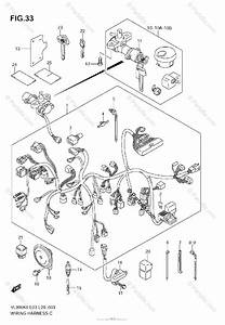 Suzuki Motorcycle 2007 Oem Parts Diagram For Wiring Harness  Model K6  K7  K8